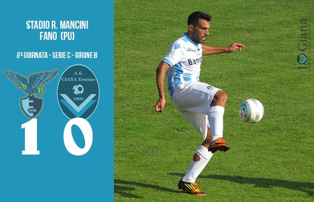 6 Fano Giana Erminio 1-0 serie C girone B