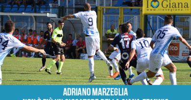 Adriano Marzeglia rescinde Giana Erminio