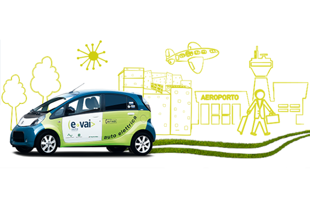 Segrate car-sharing-e-vai