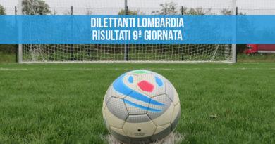 Dilettanti Lombardia Risultati 9ª giornata