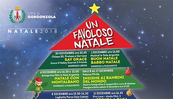 Gorgonzola Un favoloso Natale 2018