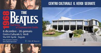 Segrate Mostra Beatles Centro Culturale G. Verdi