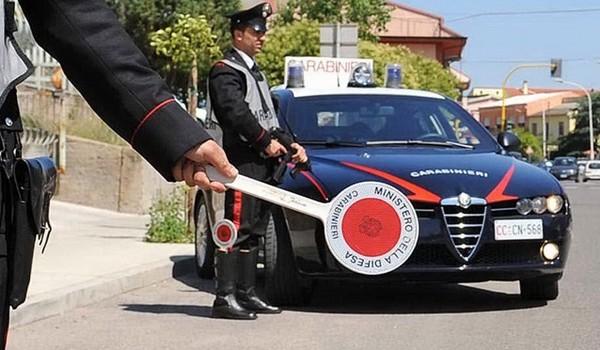 carabinieri-posto di blocco