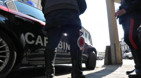 vaprio d_adda lite familiare Carabinieri