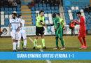 Giana Erminio Virtus Verona 1-1