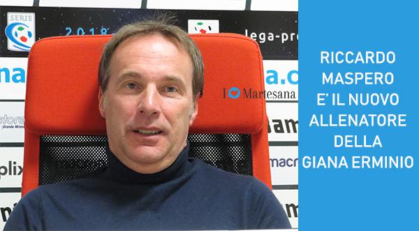 RICCARDO MASPERO nuovo allenatore Giana Erminio