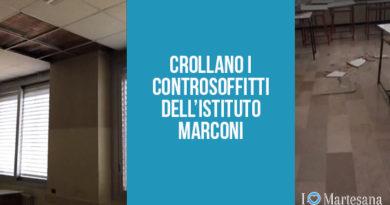 gorgonzola istituto marconi crollo soffitto