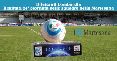 Dilettanti Lombardia Risultati 24ª giornata