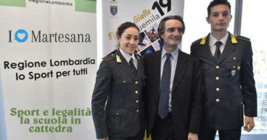 Regione lombardia Sport e legalità la scuola in cattedra