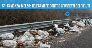 SP 13 Monza Melzo rifiuti