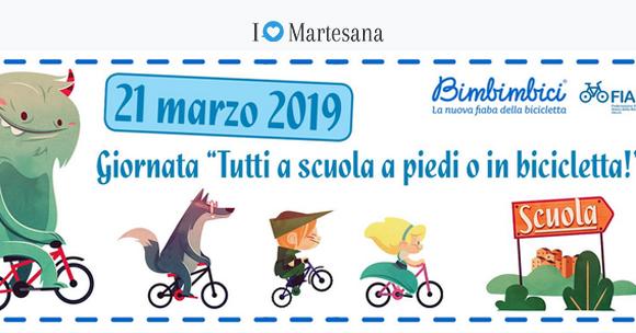Segrate tutti a scuola in bicicletta