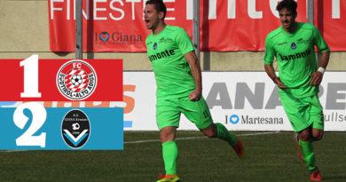Sudtirol Giana Erminio 1-2 serie c