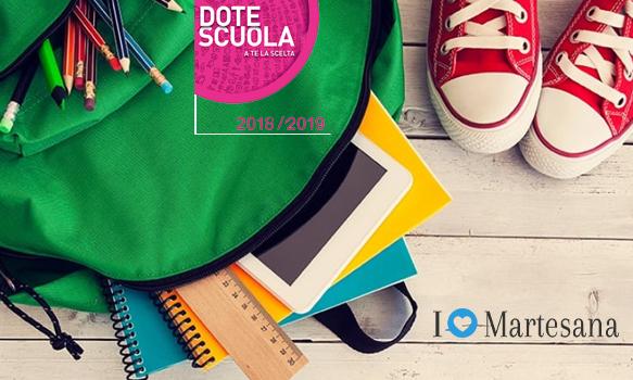 Dote scuola 2019 2020