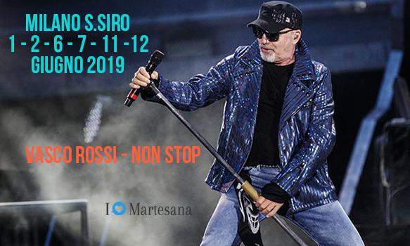 Vasco Rossi concerto milano 2019