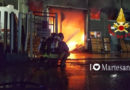 Vignate incendio capannone