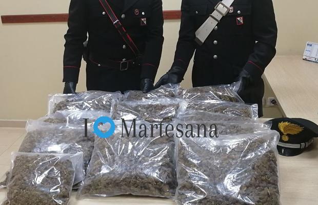 Gessate tre arresti per traffico di droga