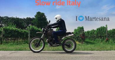 Slow ride Italy