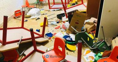 Vignate vandali devastano scuola materna