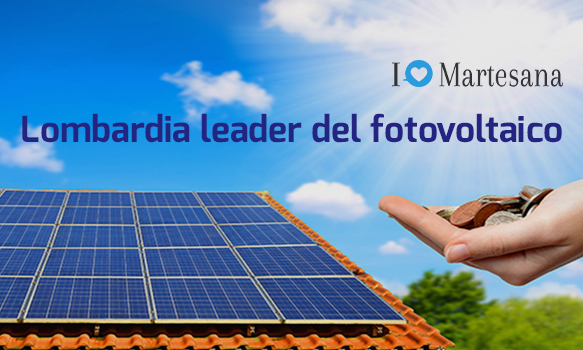 Lombardia leader del fotovoltaico