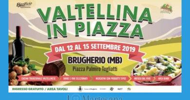 Brugherio Valtellina in piazza