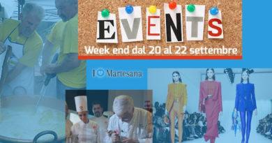 Week end 20 22 settembre