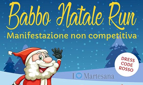 Babbo Natale Run Segrate 2019