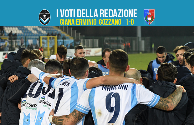 Giana Gozzano 1-0 serie c girone a