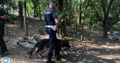 Cologno M. – Nel parchetto di viale Lombardia nascondevano mezzo chilo di eroina.