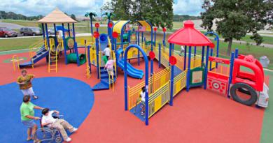 Gorgonzola parco giochi inclusivo