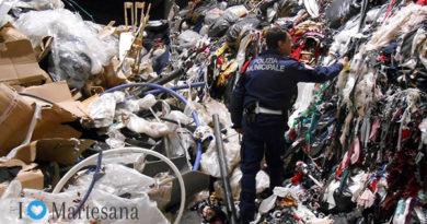 Cologno monzese rifiuti illeciti in area privata