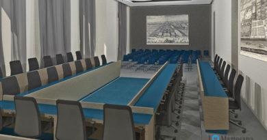 Cernusco lavori Auditorium e sala consiliare