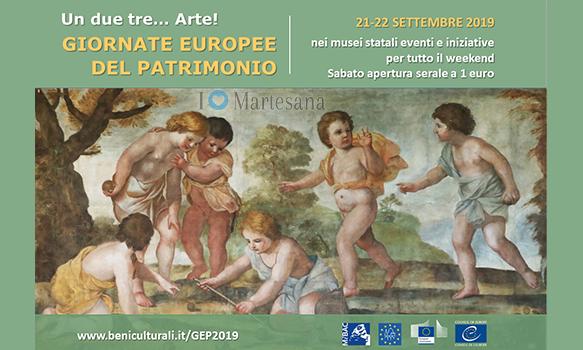 Giornate europee del patrimonio Gep 2019