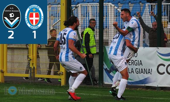 Giana Novara 2-1 Serie C